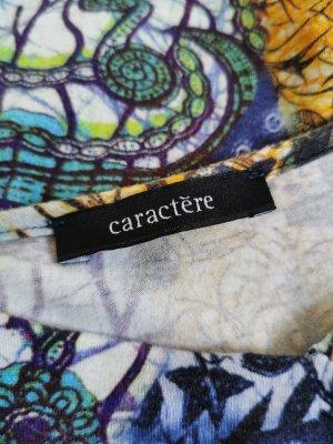 Caractère Robe mi-longue multicolore viscose