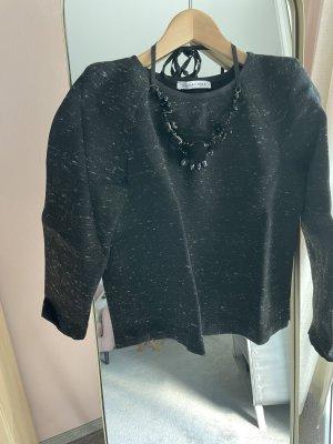 Caractère Fleece trui zwart