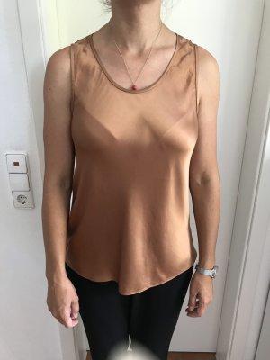 caramel/ bronze farbiges Top