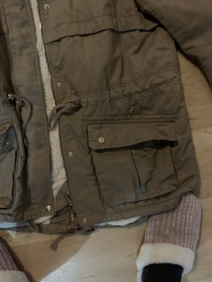 H&M Parka camel-beżowy