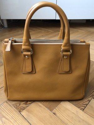 Caramel Leder Handtasche