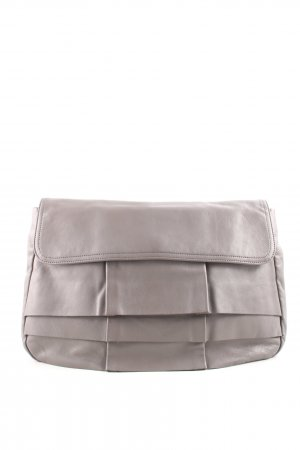 Caramelo Clutch hellgrau Casual-Look