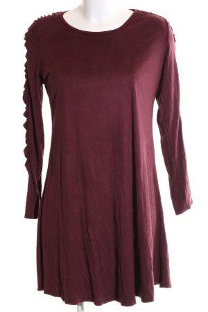 Caramelo Longsleeve Dress red casual look