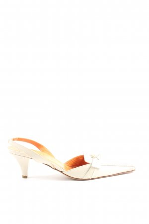 Caravelle Spitz-Pumps wollweiß Casual-Look