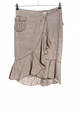 carbone Spódnica z falbanami jasnoszary W stylu casual
