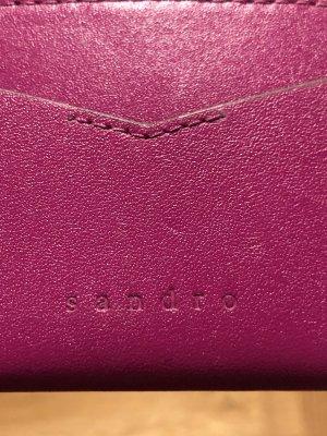 Sandro Porte-cartes violet
