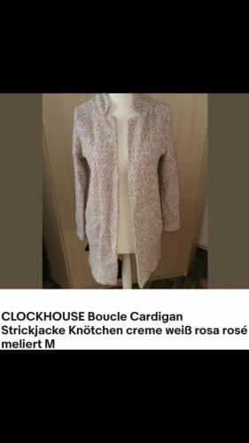 Clockhouse Wool Coat white-light pink
