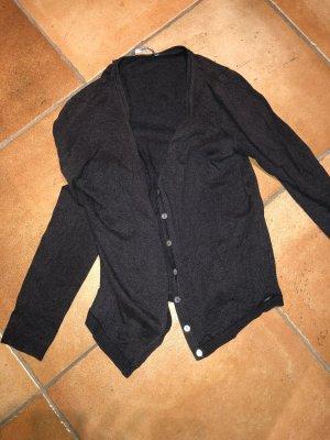 Hema Knitted Cardigan dark grey-anthracite