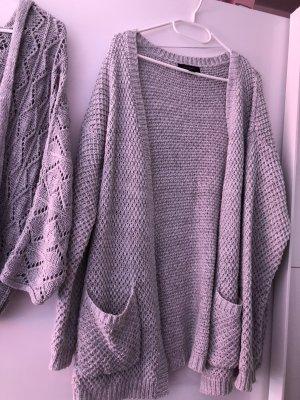 Primark Cardigan in maglia argento