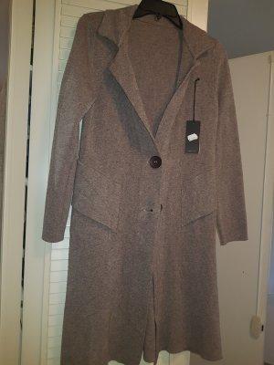 100% Fashion Cardigan marrone-grigio-malva