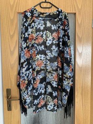 NLW Fashion Jersey kimono negro