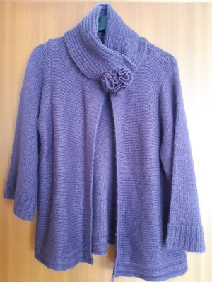Blue Seven Knitted Cardigan dark violet