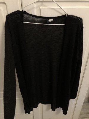 H&M Cardigan en crochet noir