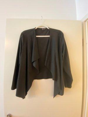 Devided von H&M Blazer en cuir noir