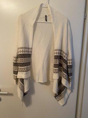 Colloseum Cardigan in maglia beige-bianco