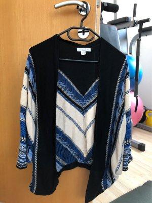 Amisu Cardigan en crochet multicolore