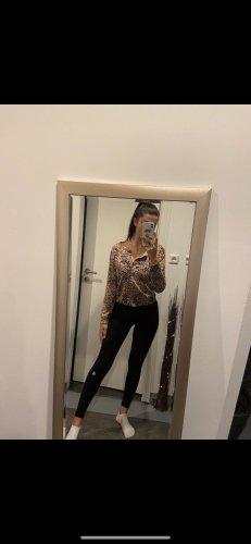 H&M Cardigan en crochet brun sable-noir