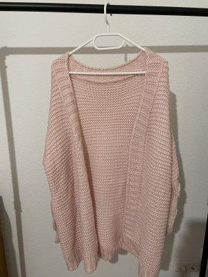 SheIn Cardigan in maglia rosa-rosa chiaro