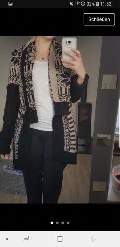 Madonna Kardigan czarny-jasnobrązowy