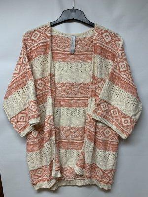 Pull & Bear Crochet Cardigan multicolored