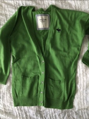 Cardigan Abercrombie & fitch grün xs s
