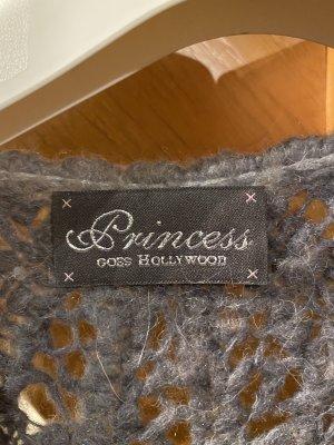 Princess goes Hollywood Cardigan grigio chiaro-bianco sporco Lana d'alpaca