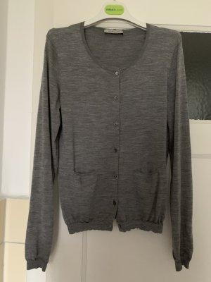 René Lezard Knitted Cardigan grey