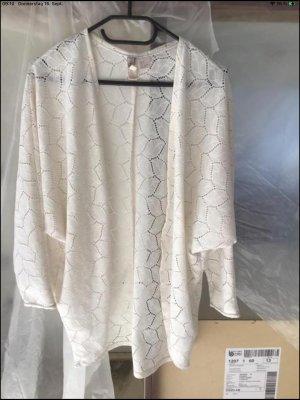 Amisu Cardigan cream-natural white