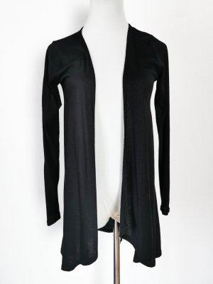 cardigan Baumwolle weich schwarz