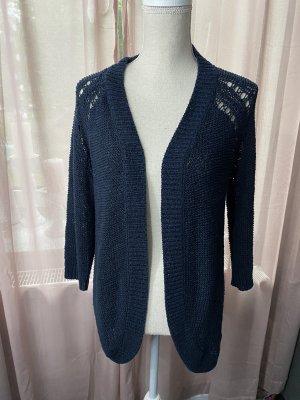 Only Knitted Vest dark blue