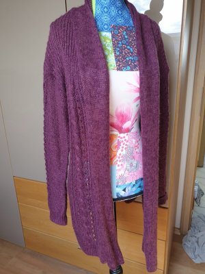 Janina Knitted Cardigan bordeaux-blackberry-red
