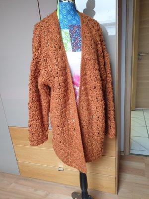 Mango Crochet Cardigan multicolored