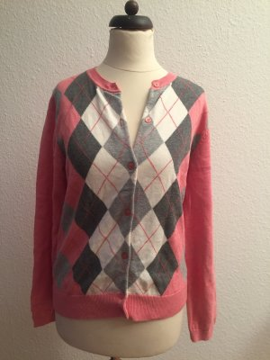 Brookshire Knitted Cardigan bright red-salmon