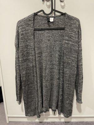 H&M Cardigan grey-black