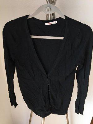 Lefties Cardigan black mixture fibre