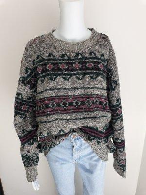 Cardigan Daniel Hechter L Strickjacke Pullover Hoodie oversize sweater Pulli True Vintage Jacke Bluse Mantel