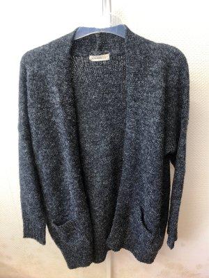 24Colours Cardigan tricotés gris-blanc