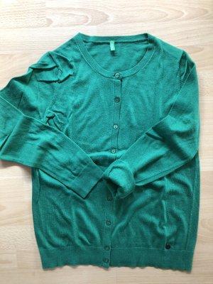 Benetton Kardigan zielony