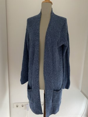 Marco Polo Knitted Coat blue-light blue