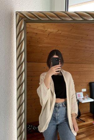 Yessica Szydełkowany sweter kremowy