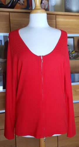 Ashley Brooke Cardigan tricotés rouge