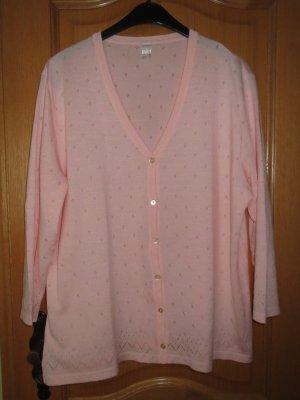 Cardigan, Gr.50/XL, rosa