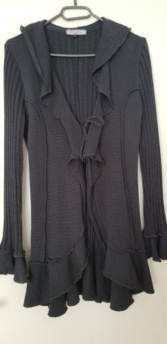 Liberty Cardigan grigio scuro Cotone