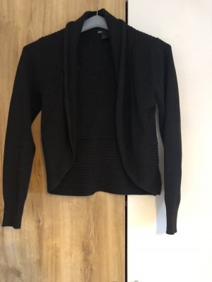 H&M Szydełkowany sweter czarny