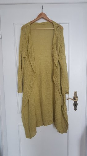 Manteau en tricot multicolore coton