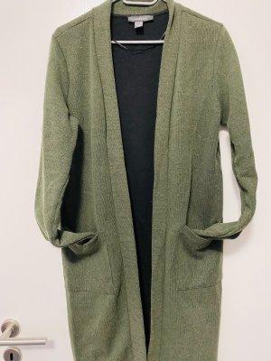 Cardigan im Grün
