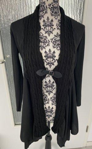 Cardigan in schwarz