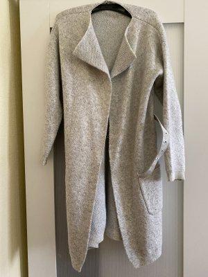 Cardigan in Silber-grau