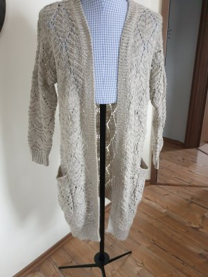 Athmosphere Long Knitted Vest light grey
