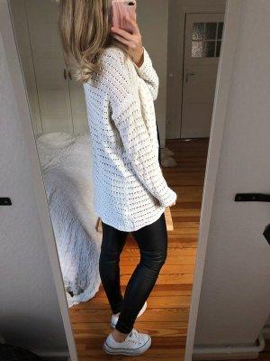 Robe à capuche blanc